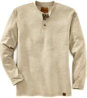 Venado Mens Flex Henley   Long Sleeve Shirts for Men