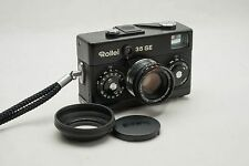 Rollei 35 SE Black mit HFT Sonnar 2.8 / 40 - Top overhauled serviced
