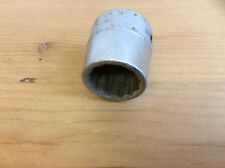 """SNAP-ON SOCKET - NDH 104 1/2 W MADE IN USA (A) -1/2"""" DRIVE"""