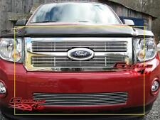 Fits 08-12 2011 2012 Ford Escape Billet Grille Grill Combo Insert