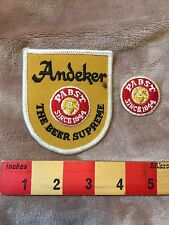 PABST ANDEKER BEER Brand Advertising / Uniform Patch Lot S75T