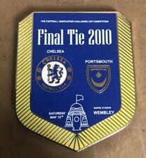 "More details for chelsea f.c.  v portsmouth "" cup final  2010"". enamel pennant pin badge."