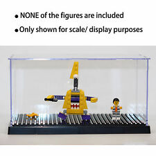 Black Lego Minifigures Collectors Display Storage Case Hold Up To 42