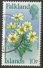 Flowers Used Falkland Island Stamps