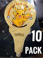 Pokemon, Pikachu & Friends Birthday Party Balloons, 10 Handheld FREE SHIPPING