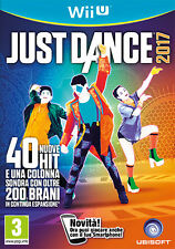 Just Dance 2017 Nintendo WII U IT IMPORT UBISOFT
