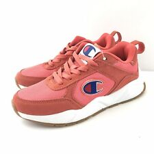 CHAMPION Girls Sneakers Size 4.5 93Eighteen Classic Groovy Papaya Lace Up New