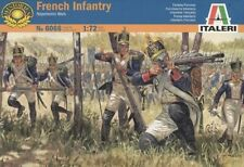 Italeri 6066 1/72 Scale Napoleonic Wars Model Kit French Light Infantry Figures