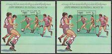 "KAMPUCHEA - 1986 MNH ""Mexico '86 World Cup - SOCCER"" 2 X Souvenir Sheet !!"