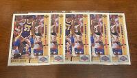 1993 UPPER DECK MICHAEL JORDAN MAGIC VS. JORDAN #34 CARDS INVESTORS LOT (5)