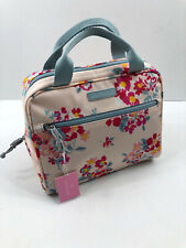 Vera Bradley Lighten Up Lunch Cooler Tossed Posies Pink Floral  Bag Sack $40 NWT