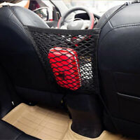 Black Mesh Storage Net Pocket Organizer Car Seat Accessory Replace Pouch Holder