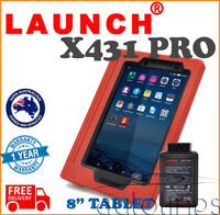 "LAUNCH X431 V 8"" Tablet WiFt Bluetooth Full System Diagnostic Scan Tool WORKSHOP"