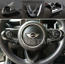 US Seller CARBON Effect Steering Wheel Cover for MINI Cooper F54 F55 F56 F57 F60