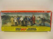 1965 Gilbert James Bond 007 Ten Movie Character Set MISP #16525 Marvin Glass NR