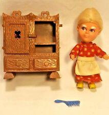 VTG Liddle Kiddle StoryKins Mother Hubbard 8701 Hasbro 1967 60s Story Doll