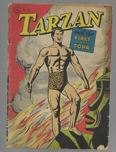 Dell Four Color Comics #161 Tarzan Golden Age Comic Book VG condition