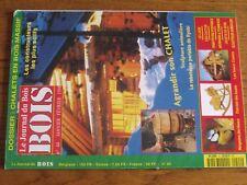 $$$ Revue Le Journal du Bois N°44 ChaletMangeoires oiseauxJouetsLaos