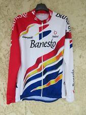Maillot cycliste BANESTO 1996 INDURAIN manches longues shirt trikot camiseta 4 L