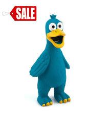 New Blue Latex Dog Toy Chicken Duck Squeeze Squeak Interactive