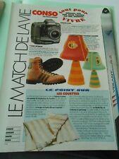 Pub Coupure Presse 1994 Vintage déco Photo les chaussures Working Boots Adiddas