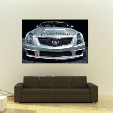 Cadillac CTS-V CTSV Coupe World Challenge Giant Poster Huge Print 54x36 Inches
