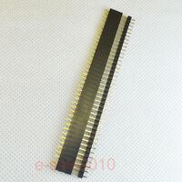 10 Pair 2.54mm 1X40 pin header Single row straight male + female for Arduino 297