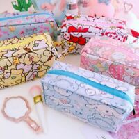 my melody unicorn oxford handbag makeup storage bag zip phone cash bags anime