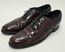 Florsheim Harvard Wingtip Oxford Closed Lace Full Brogue Shoes 30353 Size 10.5
