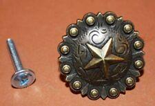 (4), Western Cabinet Drawer Pulls, Lone Star, Texas Cabinet Pulls,set of 4,HW-35