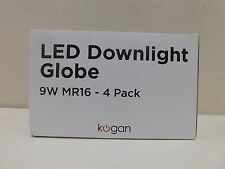 Kogan LED Downlight Globe 4 Pack 9W MR16 12V Light Globes