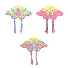 90 * 50cm Nylon Schmetterling Kite Outdoor faltbare Kinder Drachen mit 50M Linie