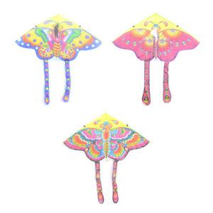 90*50cm Nylon Butterfly Kite Outdoor Foldable Children's Kite with 50M Line sh