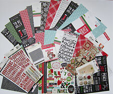 Pebbles  [Home for Christmas]  12 X 12 Paper and Embellishment Set  Save 70%