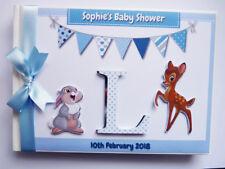 DISNEY BAMBI BIRTHDAY/BABY SHOWER GUEST BOOK - ANY DESIGN