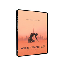 Westworld Season 3 FREE SHIPPING! BRAND NEW SEALED 3 Disc
