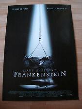 Mary Shelly's Frankenstein Kinoplakat, Filmplakat, Plakat, Poster A1 gerollt