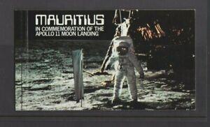 Mauritius 1979 Apollo 11 Moon Landing Booklet  MNH per scan