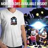 Disney Gravity Falls Mabel Dipper Pines Mystery Twins Mens Tee V-Neck T-Shirt