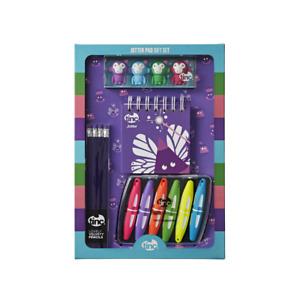 Purple Jotter Pad Gift Set