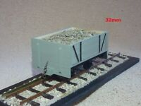 REAL TIMBER PLANKED, SM32, LIVE STEAM, 16MM/ FOOT, 1/19TH SCALE, NARROW GAUGE