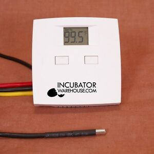 IncuStat Basic™ | Preset Digital Electronic Egg Incubator Thermostat with Probe