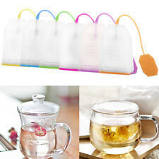 Hot Silicone Mesh Loose Spice Herbal Tea Bag Infuser Strainer Filter Diffuser