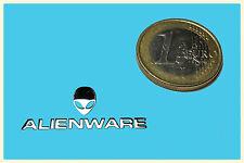 Alienware metalissed Chrome effect sticker logo autocollant 30x12mm [435]