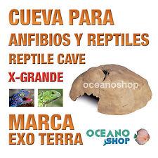 CUEVA PARA ANFIBIOS Y REPTILES REPTILE CAVE X-Grande Exo Terra Realista