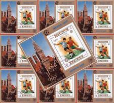AJMAN / UAE 1972 OLYMPICS / FOOTBALL / SOCCER x10 S/s SPORTS $$ WHOLESALE $$