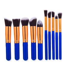10pcs Kabuki Professional Makeup Brushes Set Cosmetic Foundation Eyeshadow Brush
