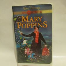 WALT DISNEY GOLD COLLECTION MARY POPPINS VHS VIDEO   DICK VAN DYKE JULIE ANDREWS