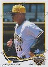 2016 Bradenton Marauders Jeff Johnson Pittsburgh Pirates PC