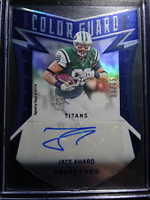 2016 Panini Preferred #209 Jace Amaro Titans Color Guard Auto Card 5/35